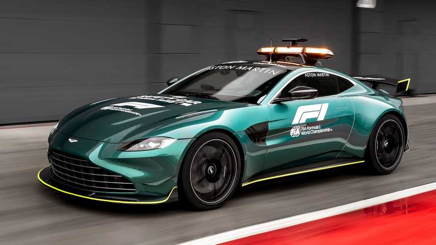 Aston Martin dévoile les Safety et Medical Cars officielles de F1