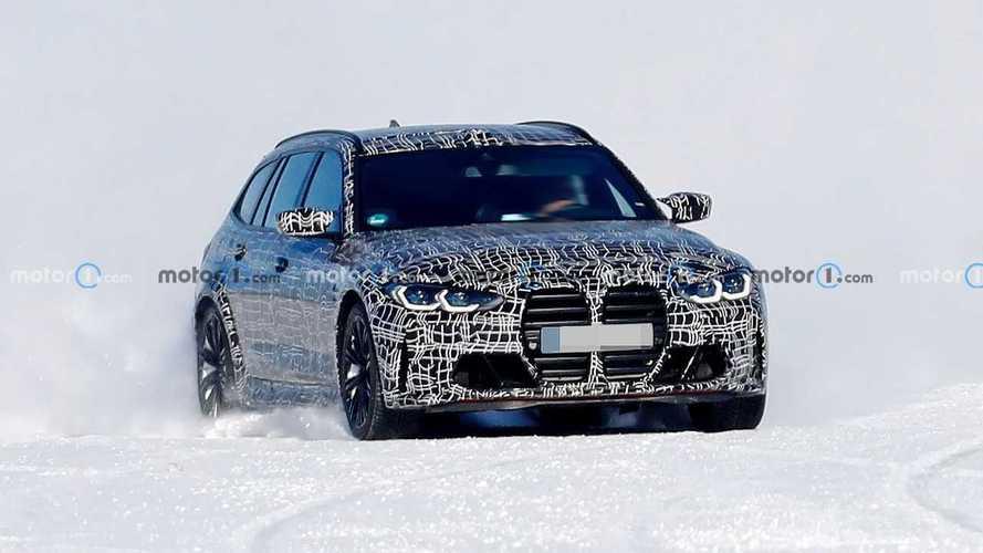 BMW M3 Touring neue Erlkönigbilder