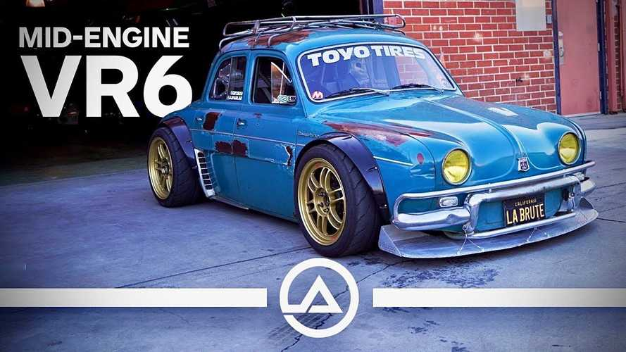 Mid-engined Renault Dauphine packs widebody and VR6