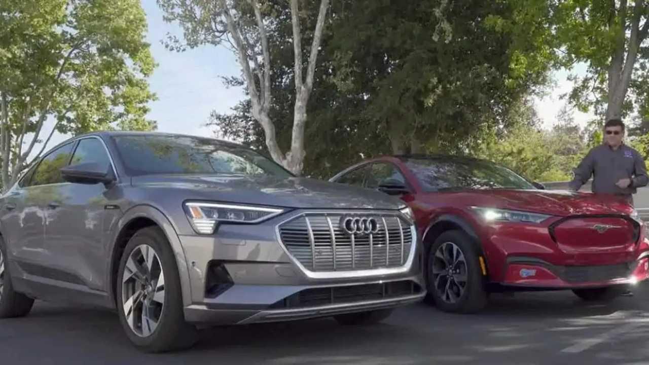 Mustang Mach-E az Audi e-tron Sportback ellen