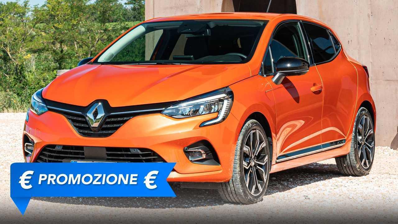La promozione riguardo alla Renault Clio