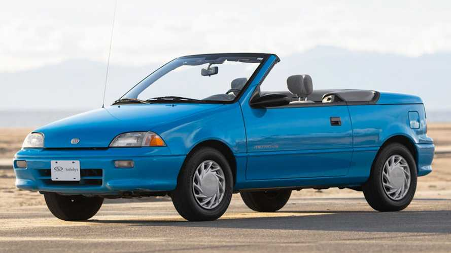 This Geo Metro Convertible Is The Headliner At An RM Sotheby's Auction