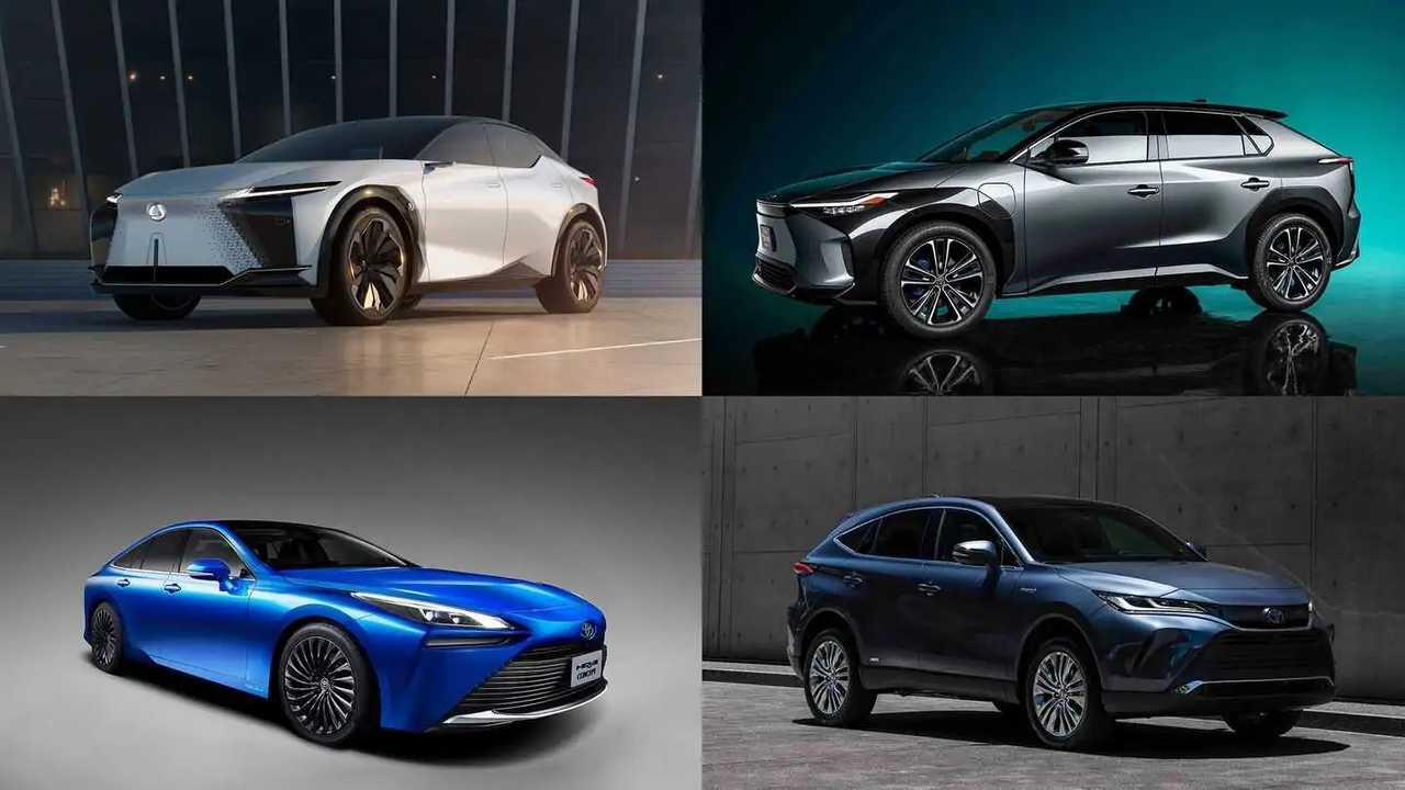 Toyota setzt nach wie vor vor allem auf Hybride