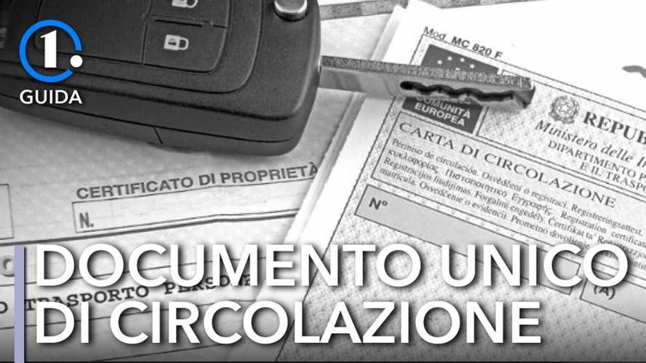 Documento unico di circolazione, cos'è e a cosa serve