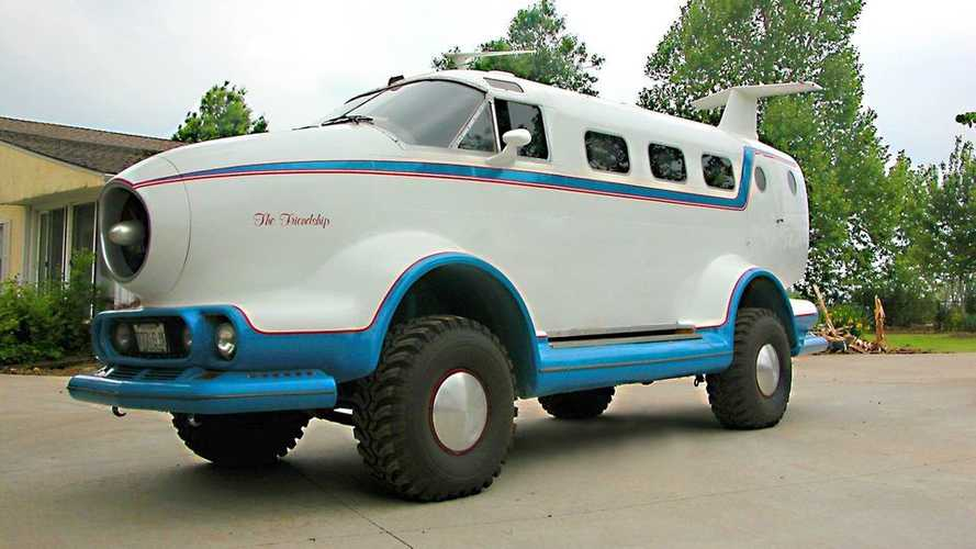 Crazy Custom Airplane SUV Has Jeep Cherokee DNA And It's For Sale