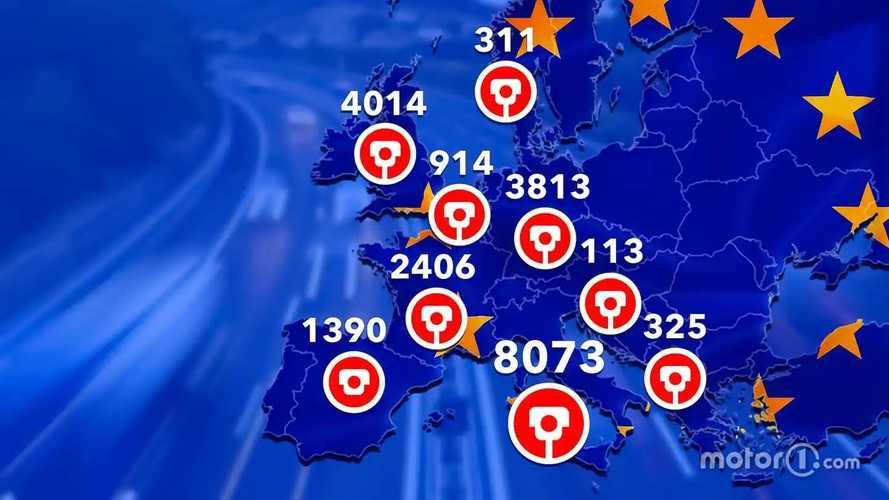Quels sont les pays les plus stricts sur la route en Europe ?