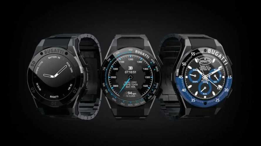 Умные часы от Bugatti будут следить за вами и вашим автомобилем