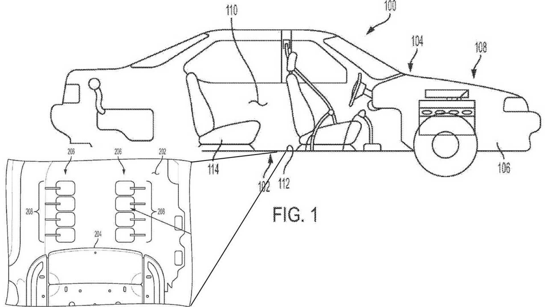 Заявка на патент GM демонстрирует странную систему массажа ног для автомобилей