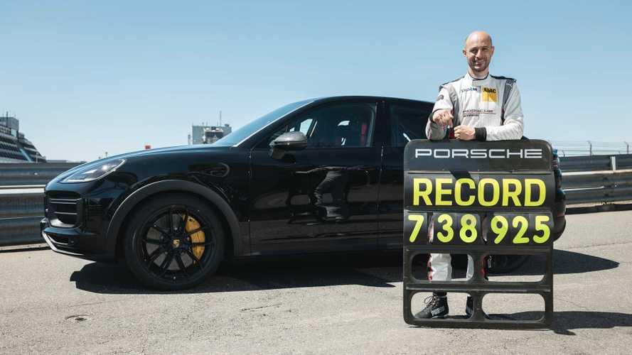 Le nouveau Porsche Cayenne s'offre un record au Nürburgring