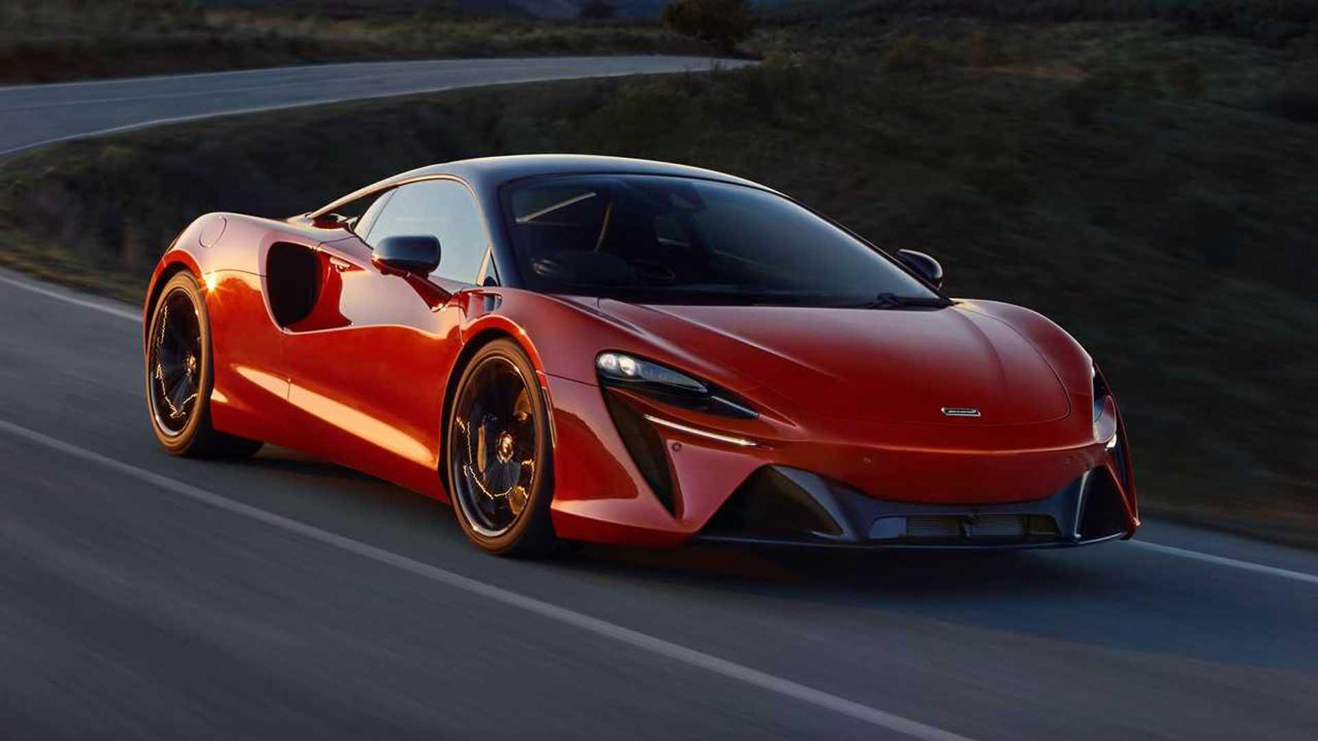 2022 McLaren Artura Front On Road