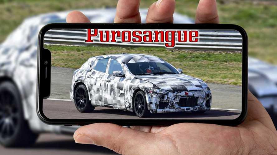 Ferrari Purosangue, il video spia a Fiorano
