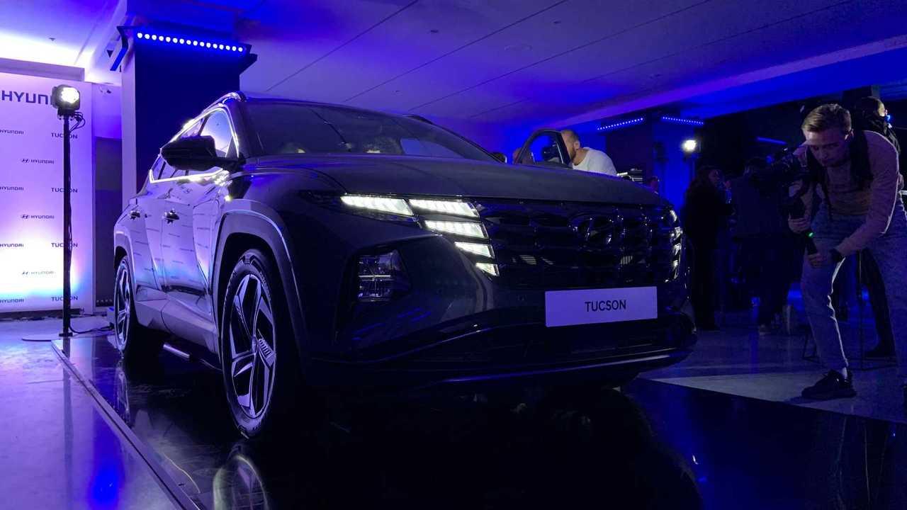 Новый Hyundai Tucson приехал в России