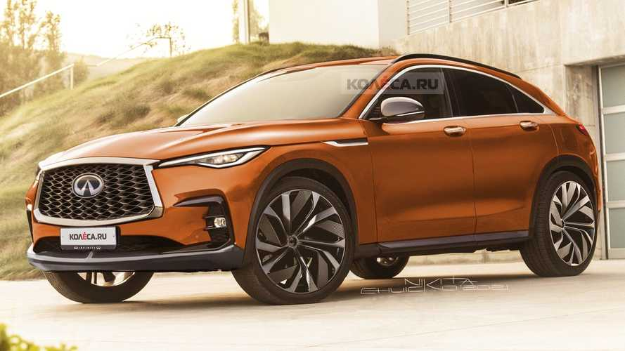 This Infiniti FX Rendering Exists In An Alternate Universe