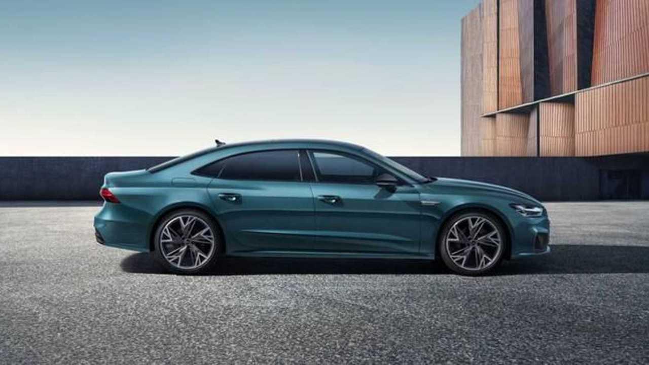 У Audi появилась четырехдверная модель A7