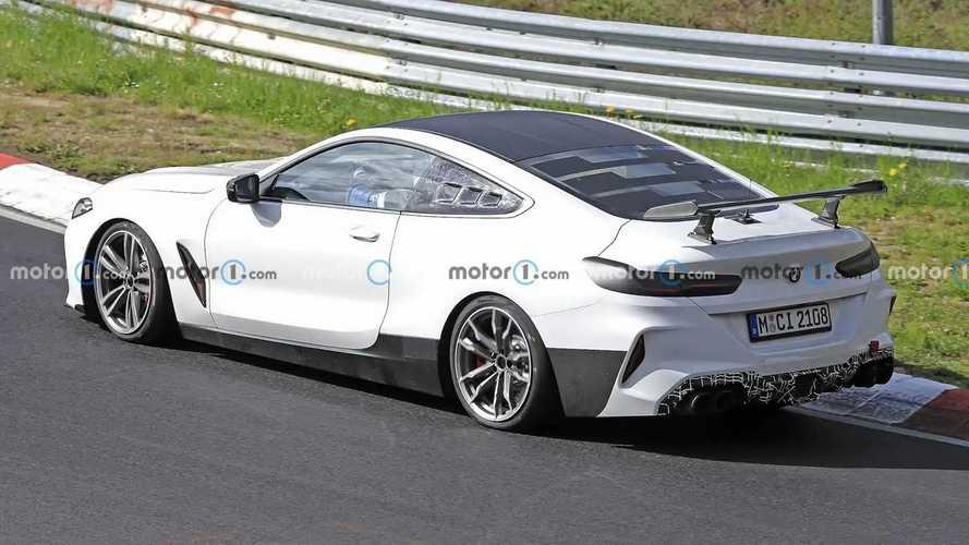 """Photos espion BMW M8 """"CSL"""""""