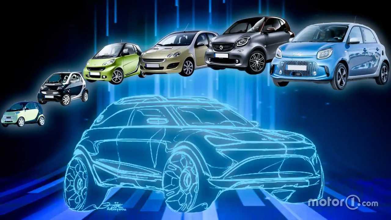 L'evoluzione delle auto marchiate smart