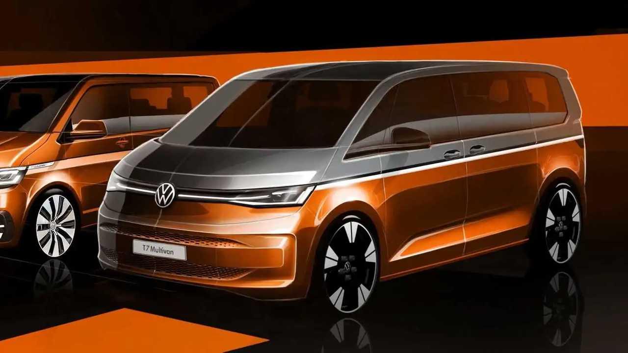 2022 Volkswagen T7 Multivan teaser