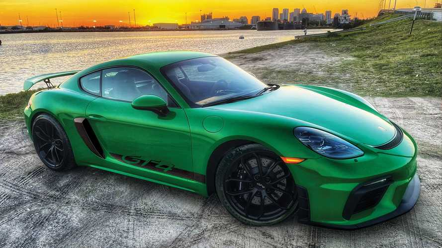 You Need To Enter To Win This Porsche 718 Cayman GT4 And $33k In Cash