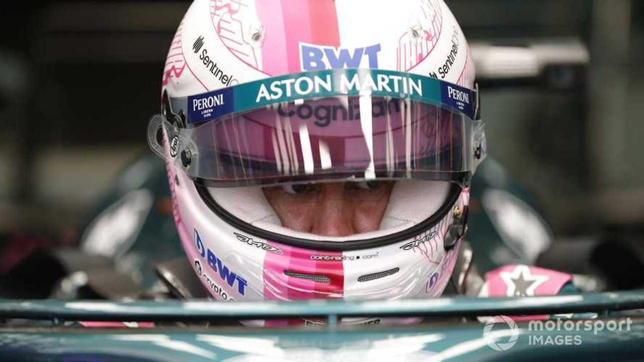 Sebastian Vettel at Bahrain GP 2021