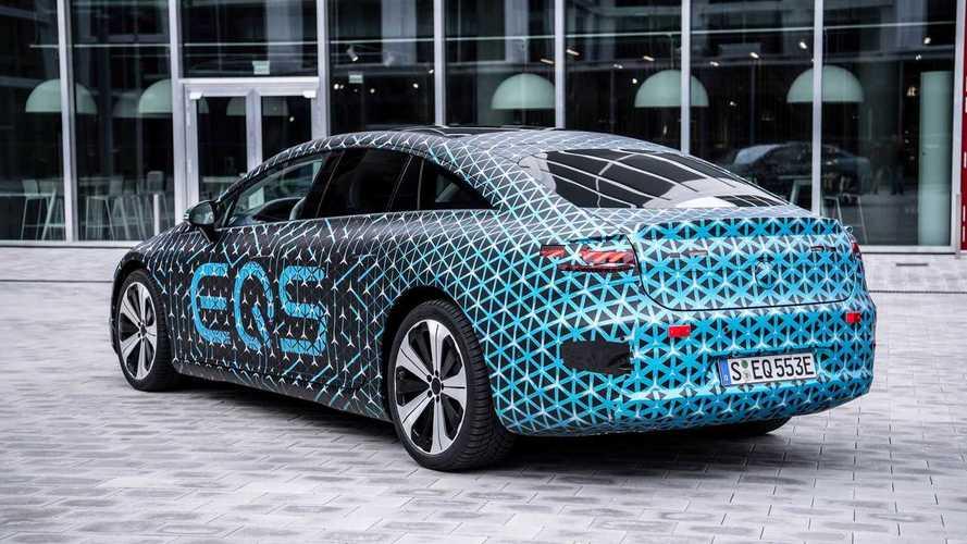 Mercedes-Benz EQS'in teknik özellikleri açıklandı!