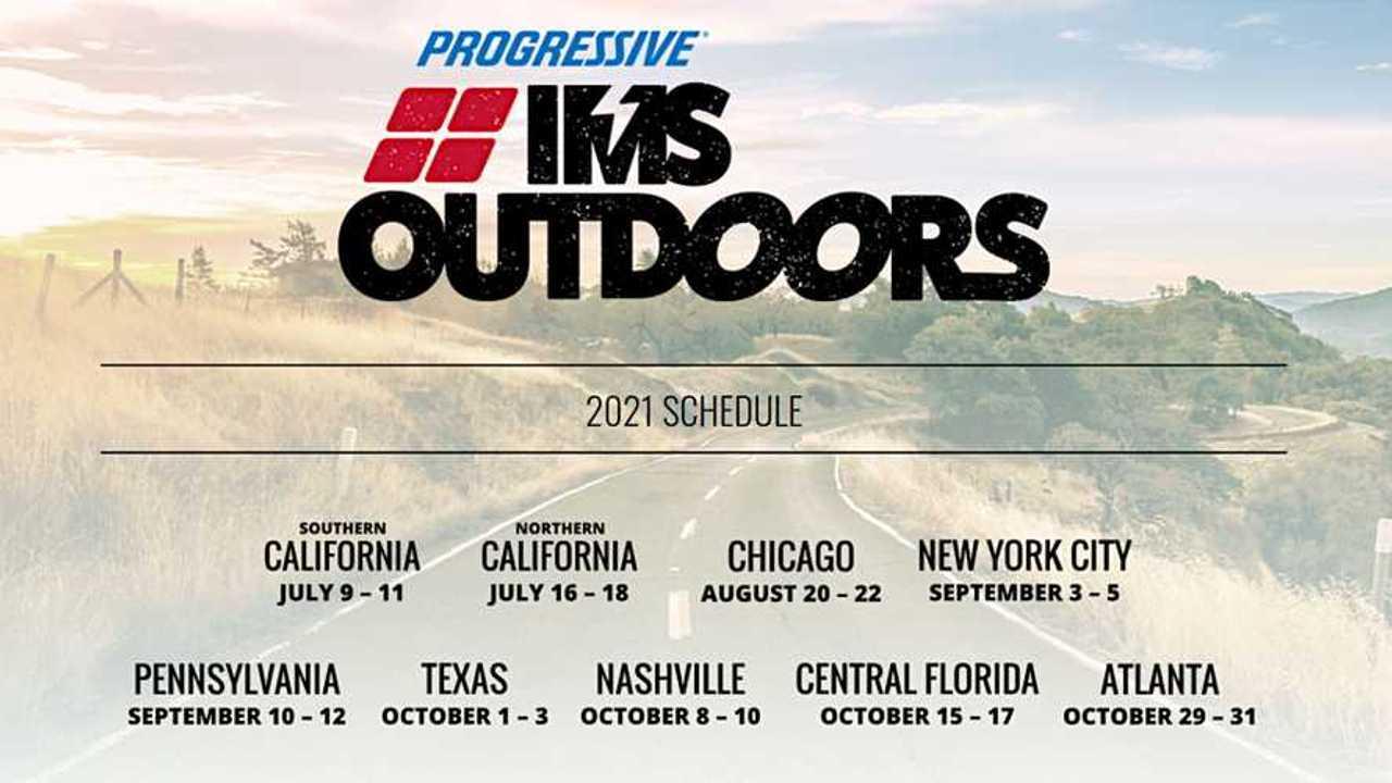 Progressive IMS Outdoors 2021 Schedule
