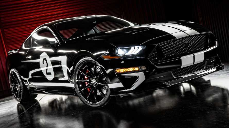 Ford Mustang Legend Edition By Hennessey Packs GT40 Looks, 808 HP
