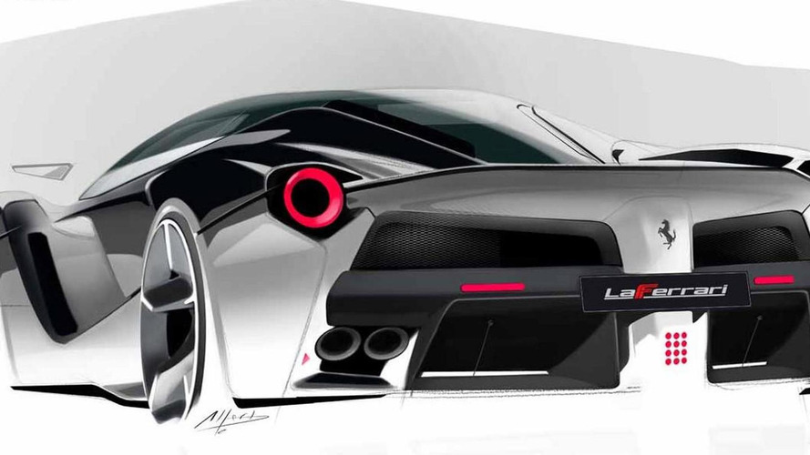 LaFerrari design created in-house, not by Pininfarina