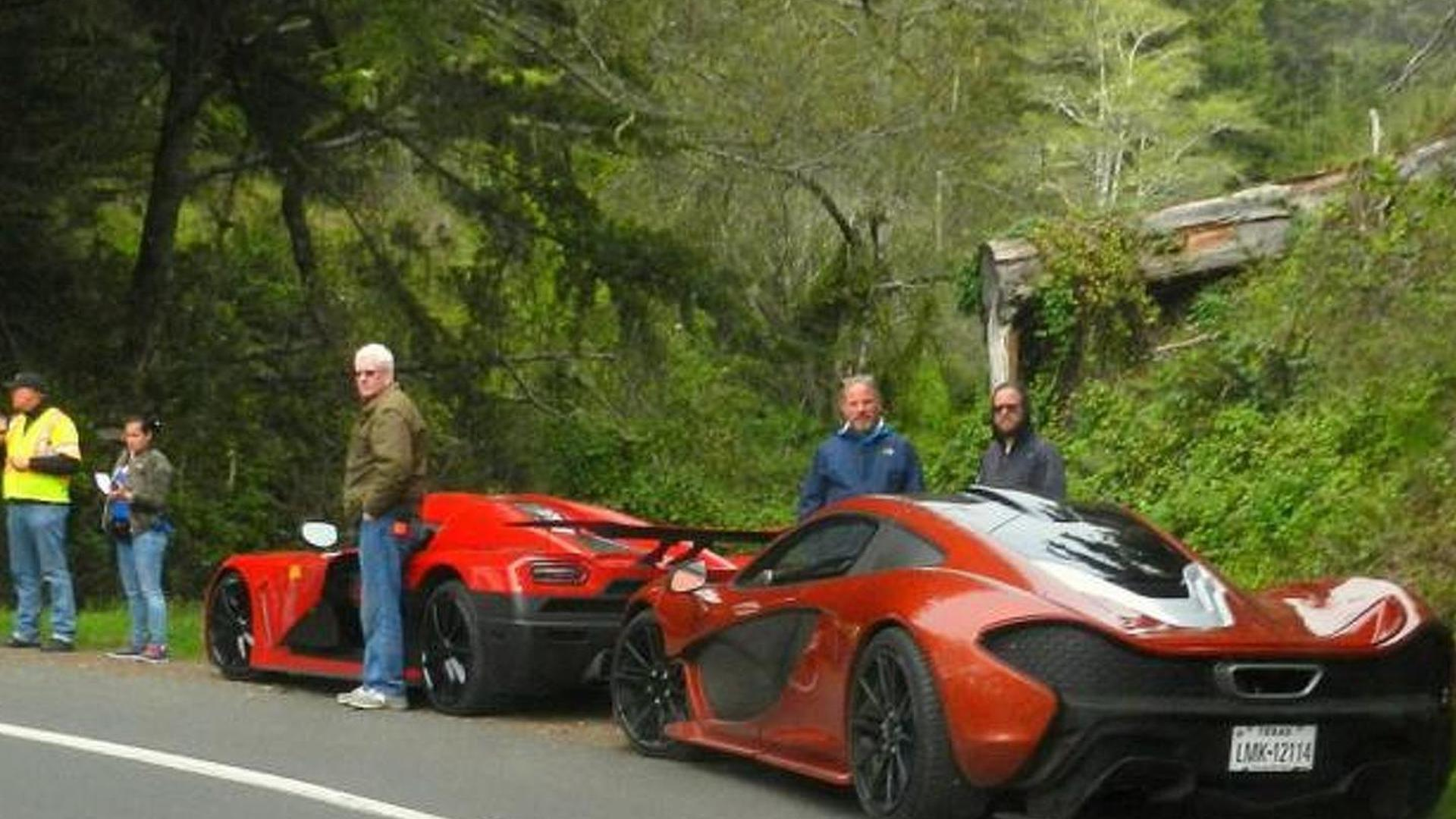 Koenigsegg Agera R And Mclaren P1 During Need For Speed Movie