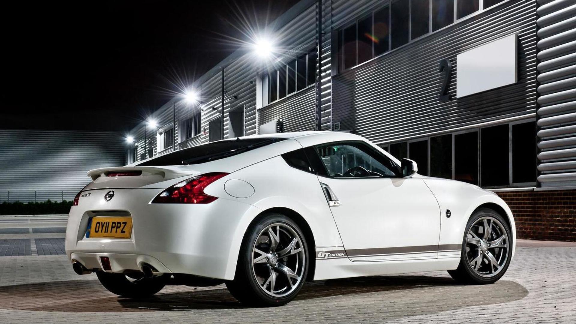 Nissan 370Z GT announced (UK)