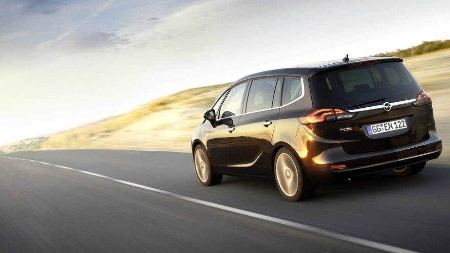 2012 Opel Zafira Tourer unveiled [video]