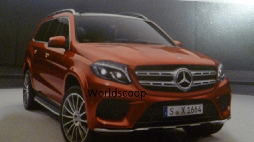 Mercedes-Benz GLS AMG Line official image emerges