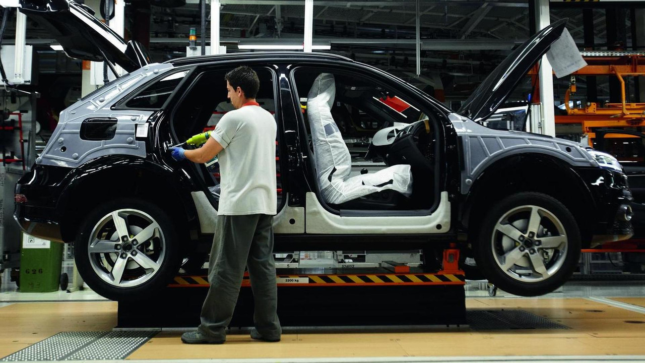 Audi Q3 production start in Martorell, Spain 08.06.2011