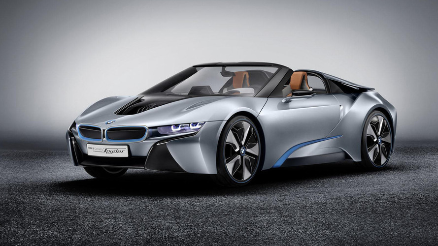 BMW i8 Spyder reportedly coming soon