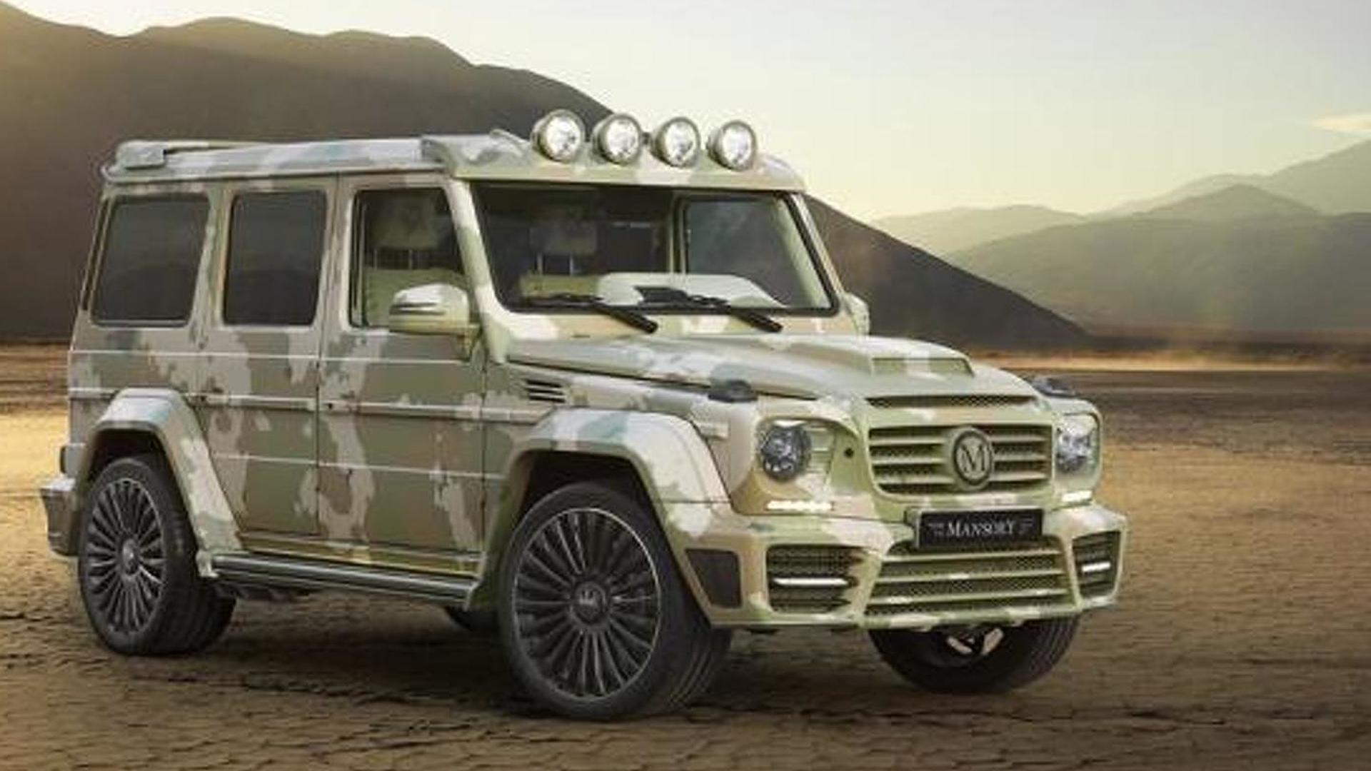 Mercedes Benz G63 AMG Sahara Edition By Mansory Is Unsurprisingly Flashy  And Expensive