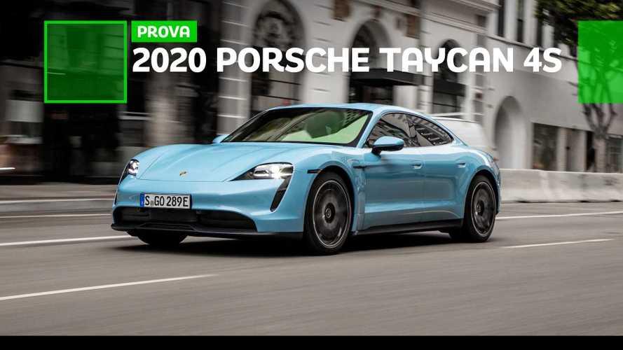 Porsche Taycan 4S: la prova doppia, in California e in Finlandia