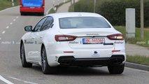 Maserati Quttroporte restyling foto spia