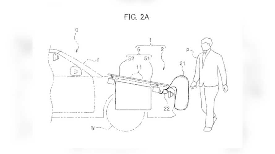 Honda patentiert externen Airbag zum Fußgängerschutz