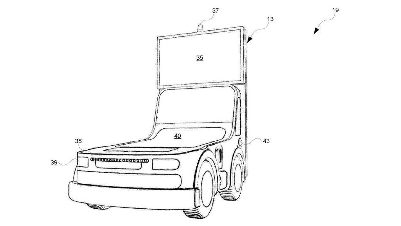 Unmanned Roadside Signage Vehicle