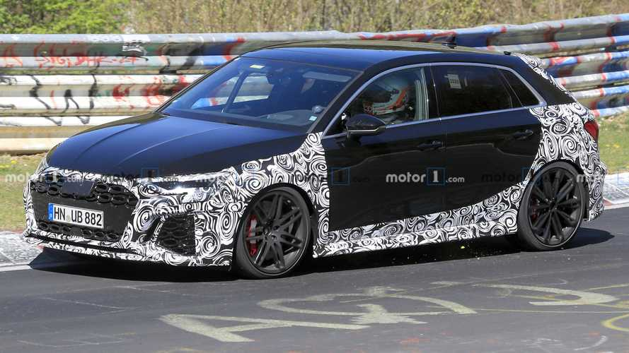 Audi RS3 Hatchback Spy Shots