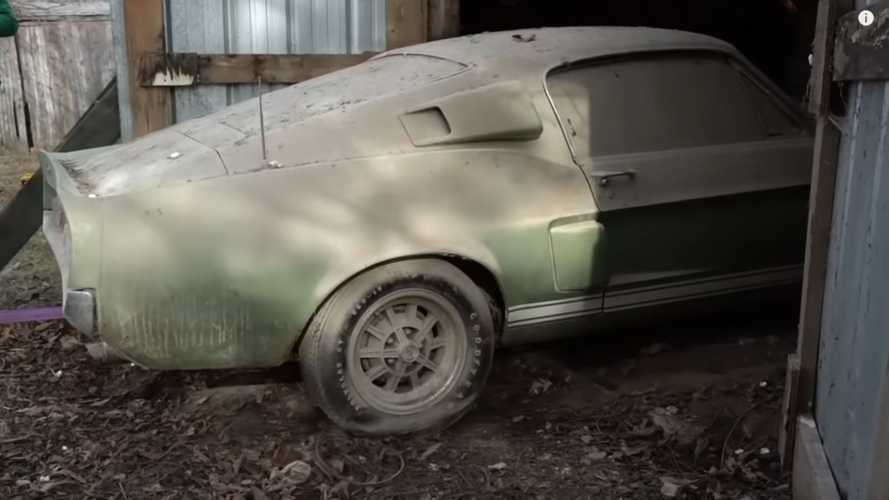 See A 1967 Shelby GT500 Barn Find Unfold