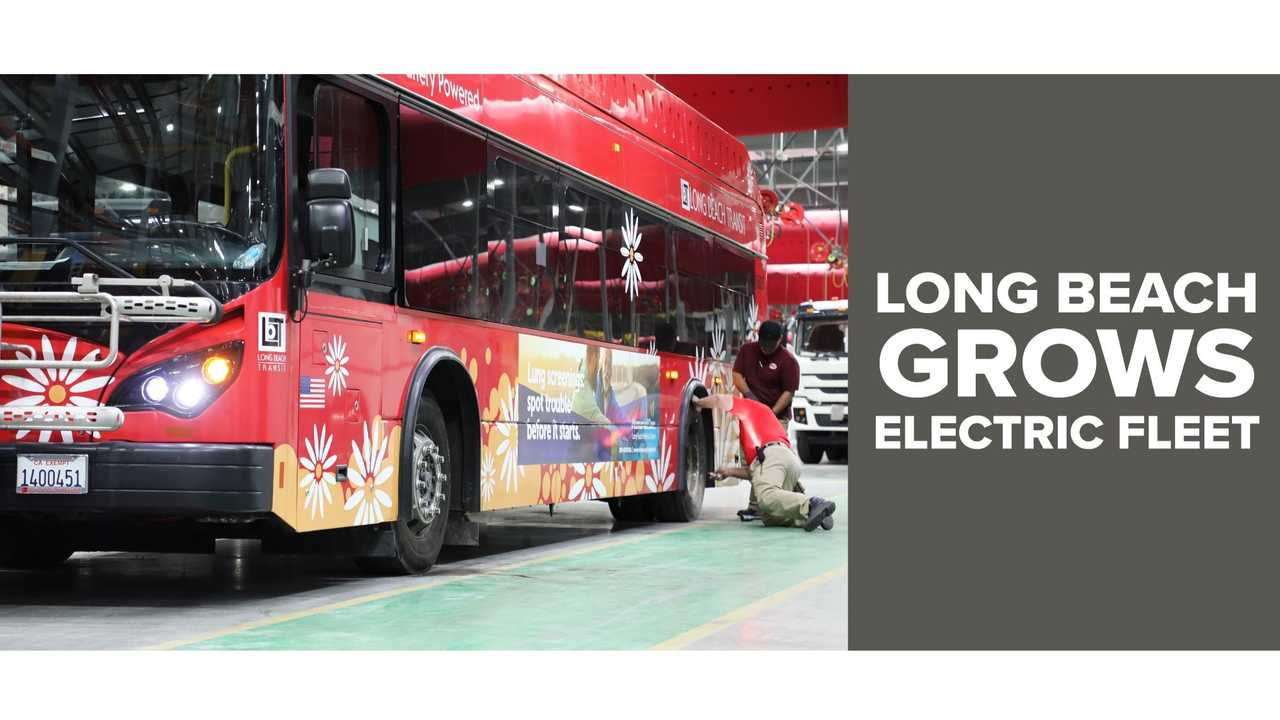 Long Beach Grows Electric Transit Fleet with Order for 14 BYD Buses