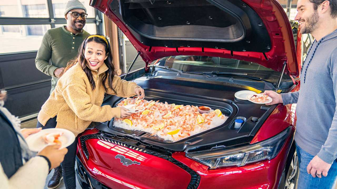 2021 Ford Mach-E Frunk Tailgate Party