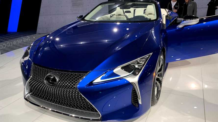 One-Off Lexus LC500 Convertible Auctioned For $2M For Charity