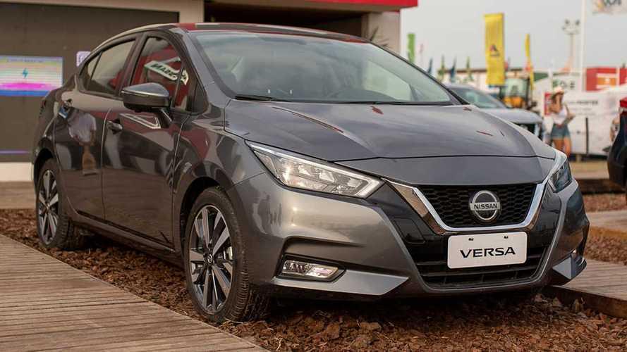 No Brasil em junho, novo Nissan Versa já é apresentado na Argentina