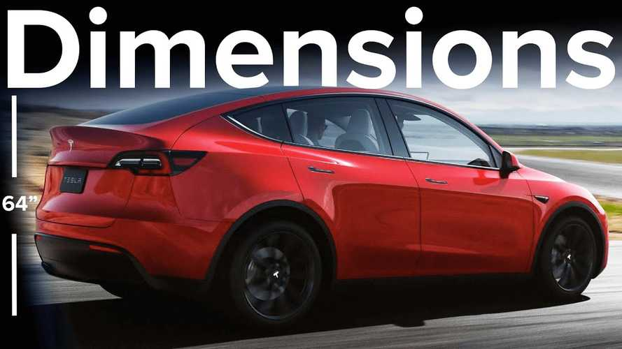 Tesla Model Y Dimensions Confirmed: How Does It Size Up?