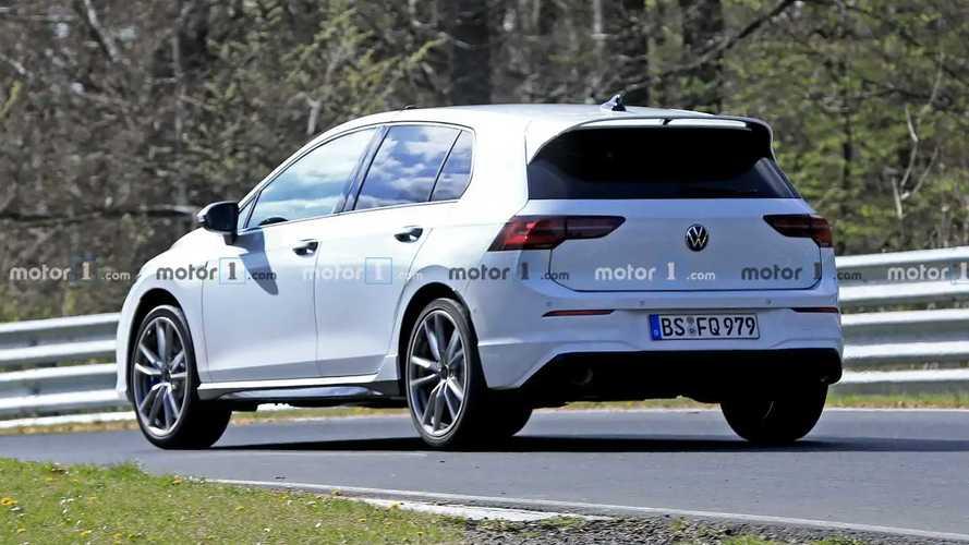 Volkswagen Golf R 2020, fotos espía en Nürburgring