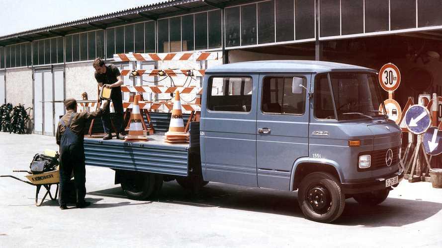 L406 e L408 i furgoni pesanti di Mercedes