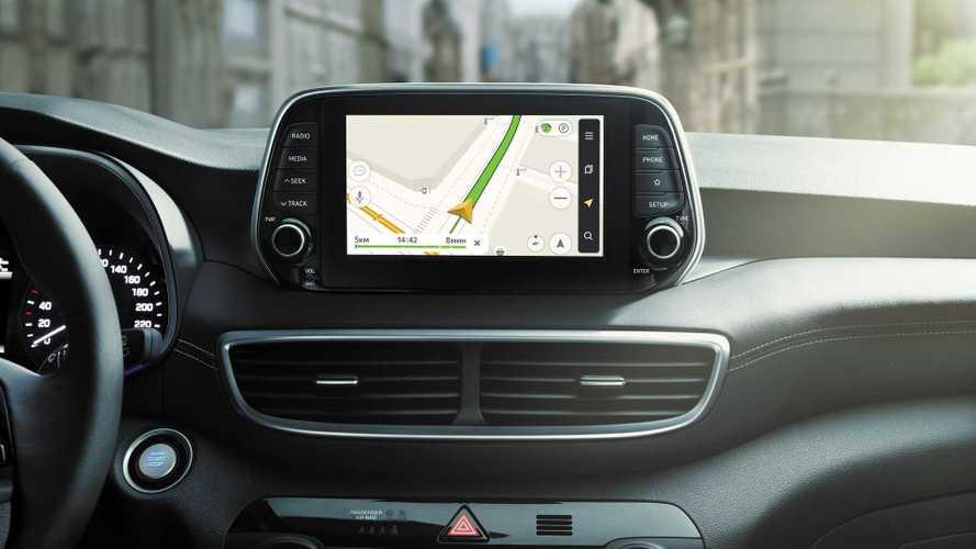 Российский Hyundai Tucson обзавелся мультимедийкой Яндекса