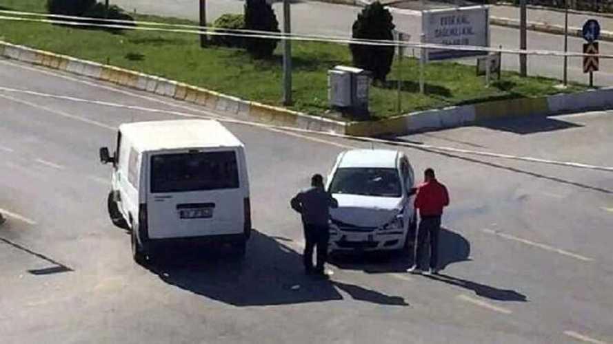 Aydın'da boş yolda kaza yaşandı!