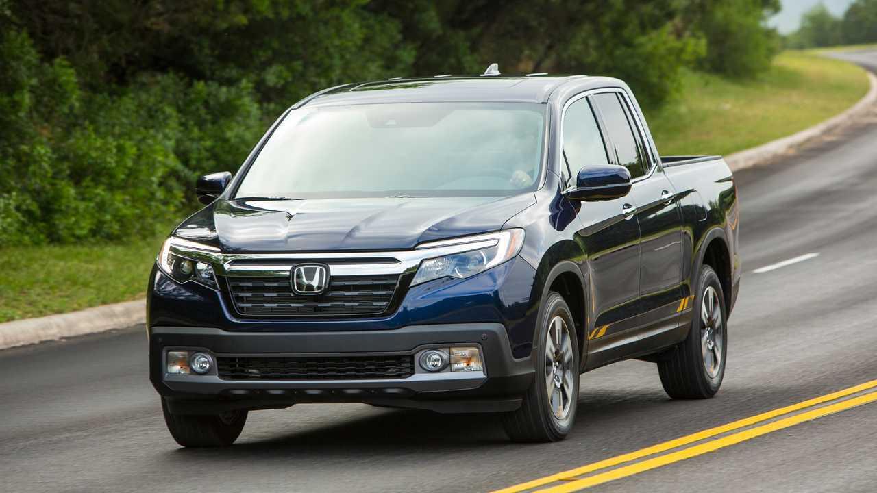 10. Honda Ridgeline